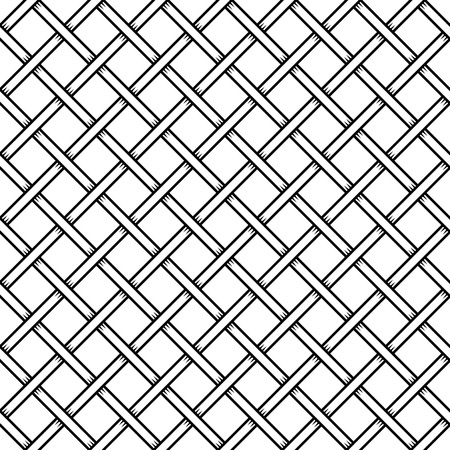 mesh texture: Seamless Cage Texture. Wire Mesh. Vector illustration Illustration