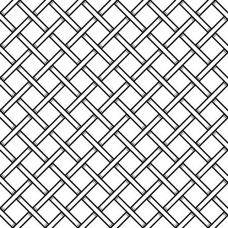 prison guard: Seamless Cage Texture. Wire Mesh. Vector illustration Illustration