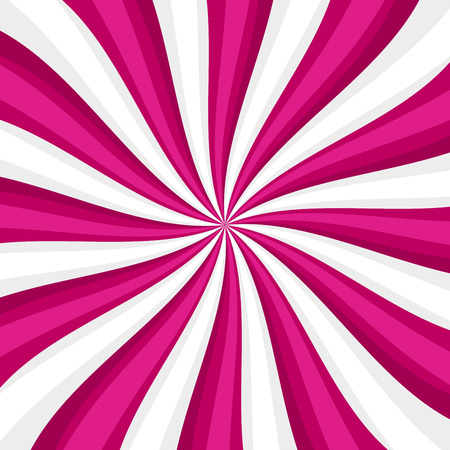 twirling: Pink Lollypop Candy Background with Swirling, Rotating, Twirling Stripes. Vector illustration