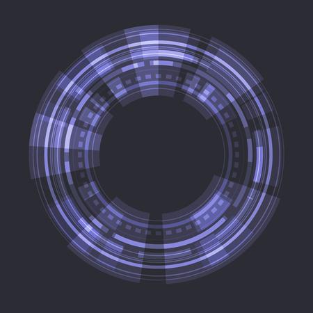 sci fi: Sci fi Futuristic User Interface. Vector illustration