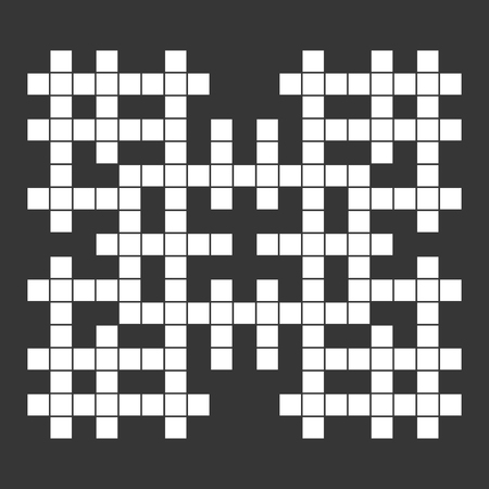 crossword: Empty Squares British-style Crossword Grid.