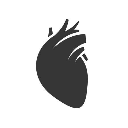 Icono del corazón humano