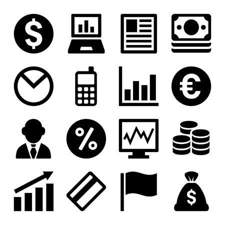 icon: Money icon set Illustration