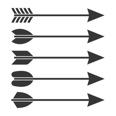 to pierce: Arrows Icon Set