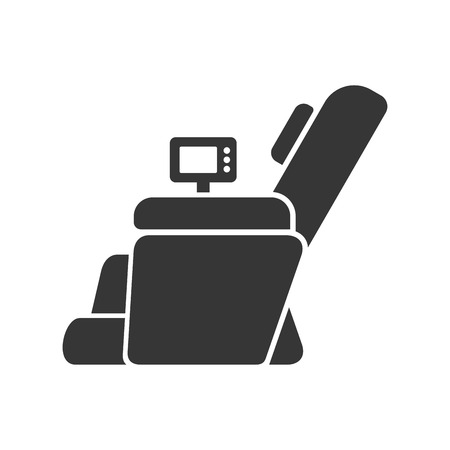 home office interior: Massage Chair Icon