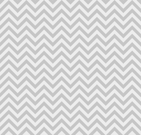Gray Zigzag Lines Seamless Pattern Vector illustration