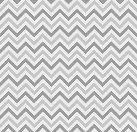 Gray Zigzag Lines Seamless Pattern. Vector illustration. Illusztráció