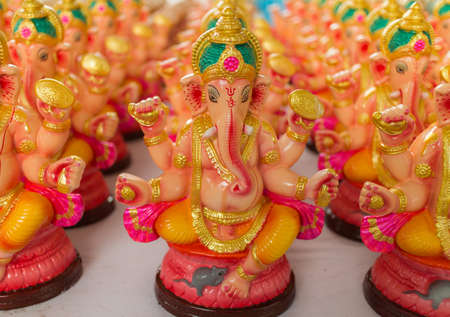 idols: Ganesha Statue, Ganesh Idols for sale on the occasion of Ganesh festival