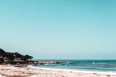 california coast: Photo of Oceanview from California Coast, United States Stock Photo