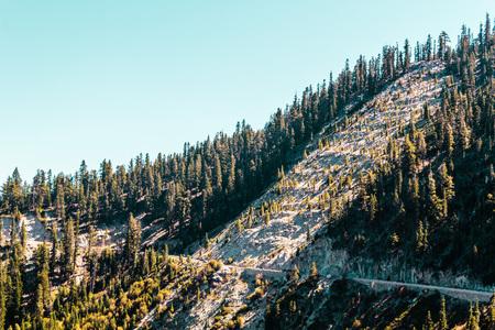 south lake tahoe: Photo of Mountain near Emerald Bay and Lake Tahoe