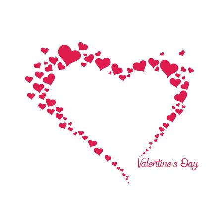 heart ring valentine day Ilustração