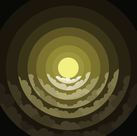 radius: moon light radius color yellow