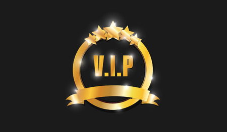 five stars: Ring Gold VIP Five Stars