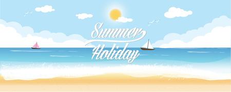 暑假复古风格