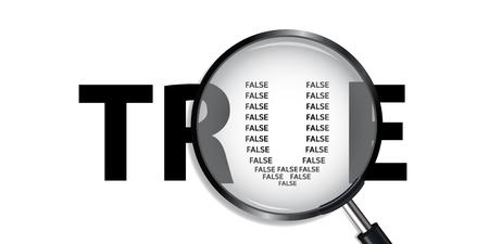 falso: Es cierto que han Falso detectar la verdadera Searching