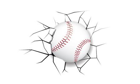 crack: Sport Crack BaseBall destruction