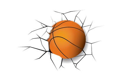 destruction: Sport Crack BasketBall destruction