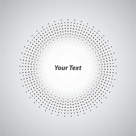 widespread: Background White Circle Round Spread Style Illustration