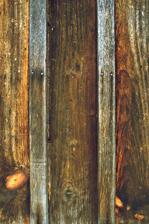 Old brown wooden wall Stock Photo