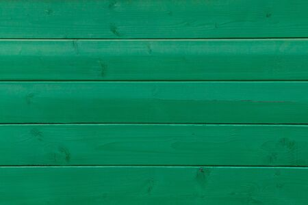 bright green horizontal parallel wooden fence texture Reklamní fotografie