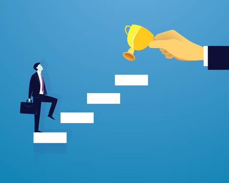 affaires escalade échelle de succès