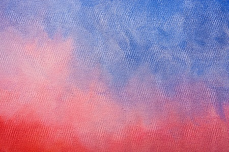 Canvas texture painted with gradient colors background.