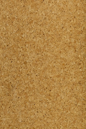High resolution shot of a corkboard background.