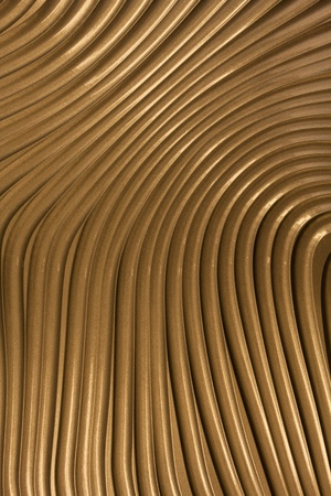 Golden colored metal surface background. Stock Photo - 10886179
