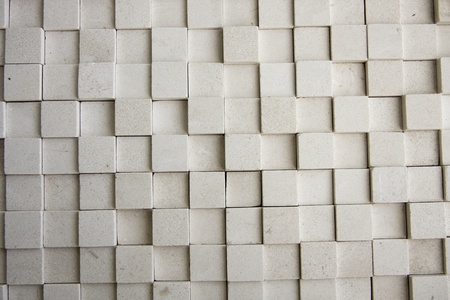 Square shaped stone tiles background.