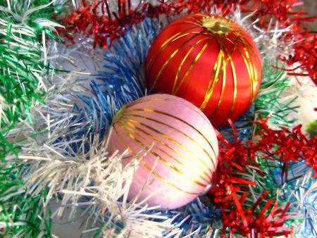 christmas balls isolated for celebration.colorful christmas balls