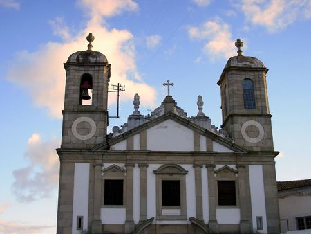 eacute: Dedicated church to the situated Espirito Santo in the city of andamp,Eacute,vora, Portugal