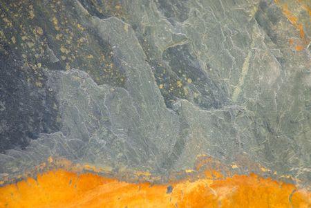 lithosphere: Closeup of a flagstone of shale. Stock Photo