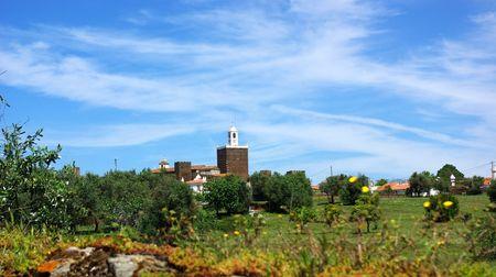 Landscape of Alandroal, old village. photo
