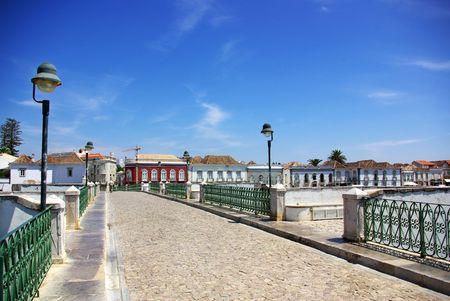 Old City of Tavira, Algarve, Portugal.