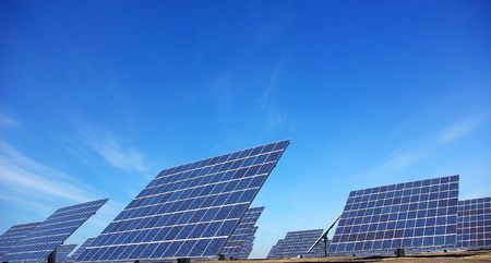Photovoltaic central in Portugal.