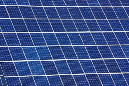 Background of photovoltaic cells. Stock Photo