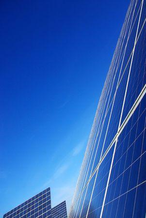 Background of photovoltaic cells. Stok Fotoğraf