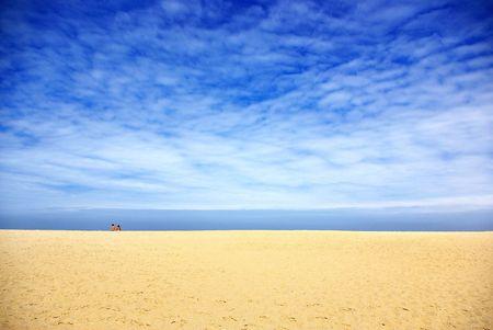 sandy: Melides playa al sur de Portugal.