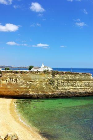 Senhora da Rocha beach, Algarve, Portugal. photo