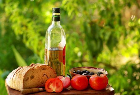 Ingredients of portuguese cuisine. Standard-Bild