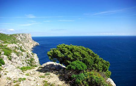 Seascape at Portugal. photo