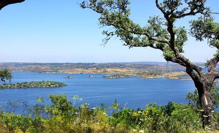 Park of Alqueva Lake. photo