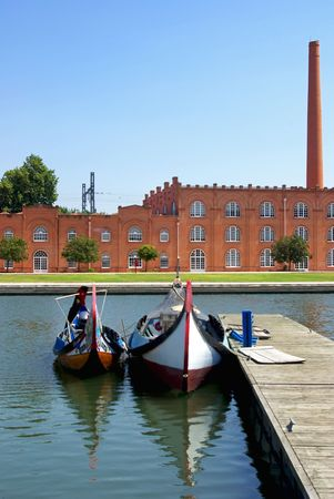 Old ceramic factory, Aveiro, Portugal. photo