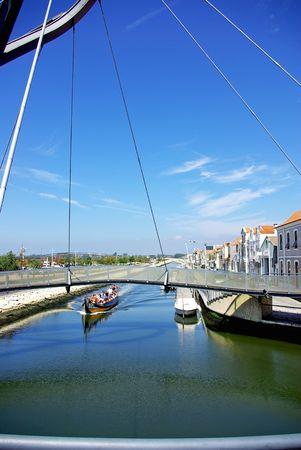 Landscape of Aveiro, Portugal. photo