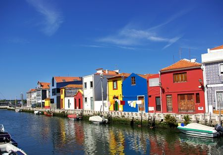 Aveiro, Portugal. Stockfoto