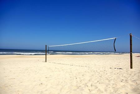 pelota de voley: Redes de voleibol de playa.