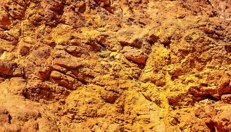 Texture of wall at iron mine. Stock Photo - 9533830