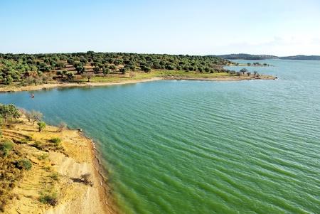 alentejo: Alqueva lake, Guadiana river, Portugal.