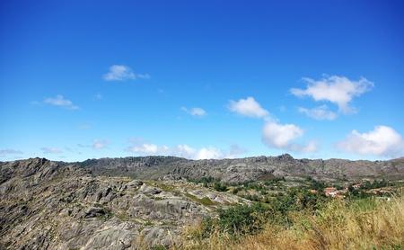 granite park: Peneda Geres,Castro de Laboreiro, Portugal  Stock Photo