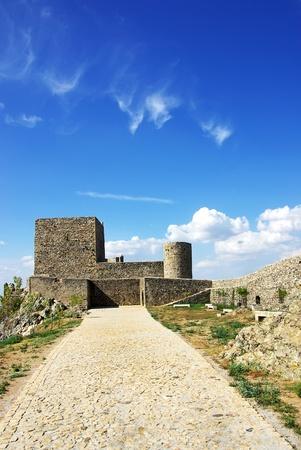 Landscape of Marvao castle, Portugal.